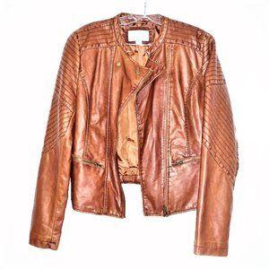 XHILARATION Faux Leather Moto Jacket - NWOT